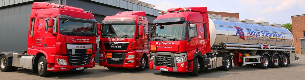 Aloys Siepmann Flotte Spedition Transport LKW