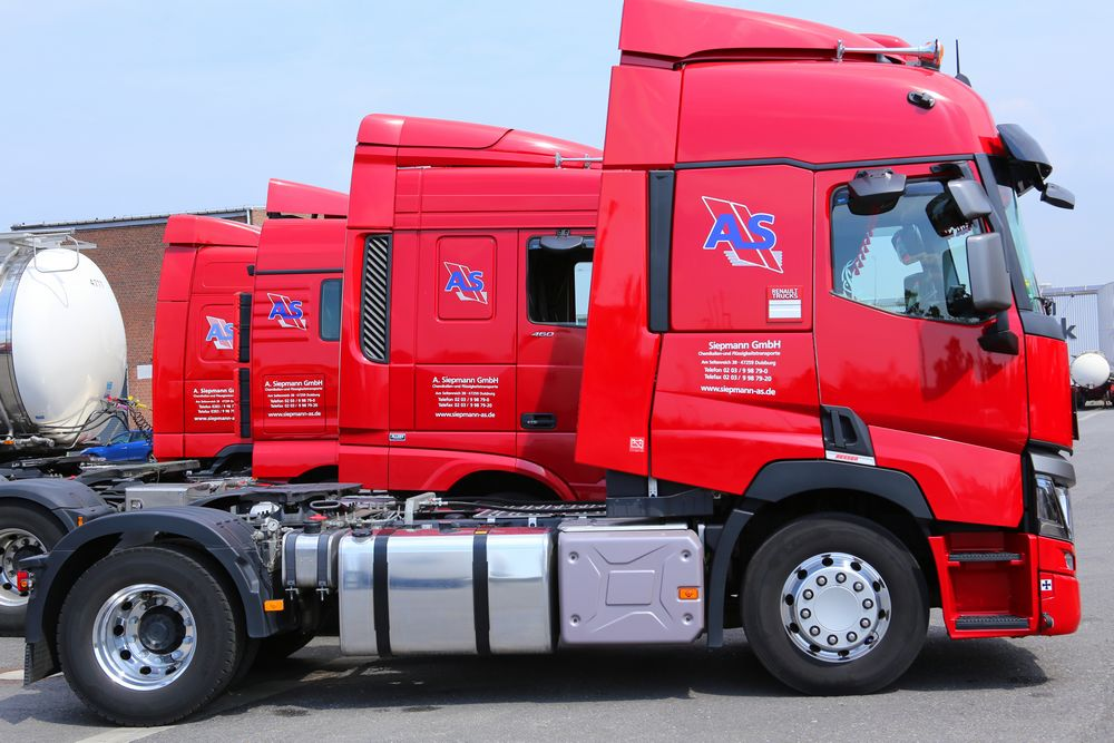 Spedition Flotte Aloys Siepmann LKW Chemikalien