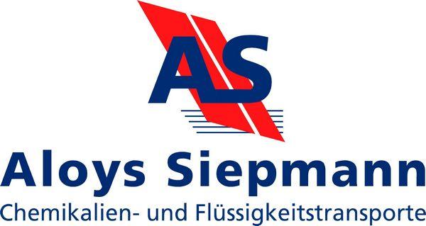 Aloys Siepmann Chemikalien und Flüssigkeit Transport Logo Spedition